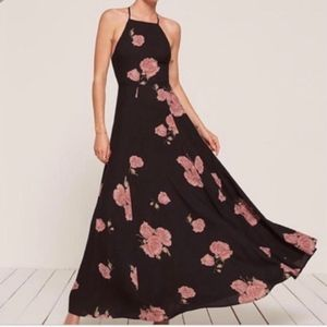 Reformation Maxi Mytle Dress In Geneviere Sz 10